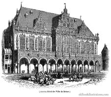 Free Bremen Town Hall Royalty Free Stock Images - 92132239