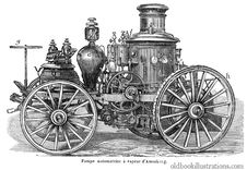 Free Amoskeag Steam-Powered Fire Engine Stock Photo - 92132660