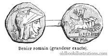 Free Roman Denarius Royalty Free Stock Photography - 92134187