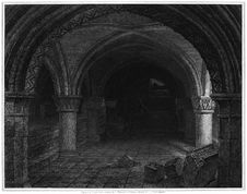 Free York Cathedral, Crypt Under The Altar Stock Photography - 92136042