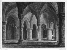 Free Canterbury Cathedral, Crypt Under Trinity Chapel Royalty Free Stock Photography - 92136057