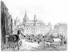Free 's-Hertogenbosch—the Market Royalty Free Stock Photos - 92136188