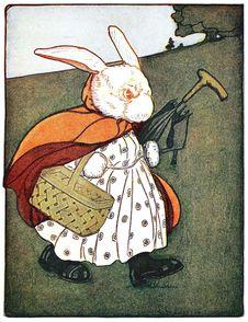 Free Mrs. Rabbit To The Baker's Stock Photo - 92136540