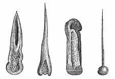 Free Prehistoric Bone Tools Stock Photography - 92136682