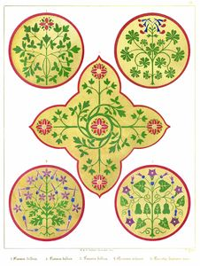 Free Floriated Ornaments Plate 25 Royalty Free Stock Photos - 92136728