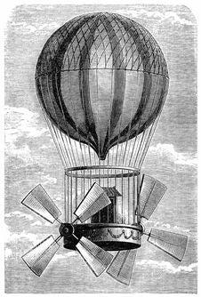 "Free Aerostat ""Le Comte D'Artois"" Stock Photo - 92137150"