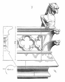 Free Balustrade At Notre-Dame Cathedral Stock Photos - 92137603