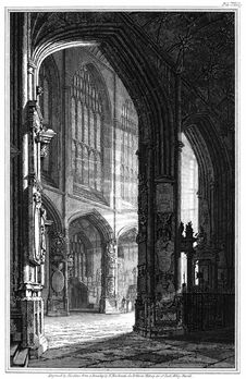 Free Nave Of Bath Abbey Royalty Free Stock Image - 92137976