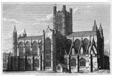 Free Bath Abbey—South Side Stock Image - 92140141
