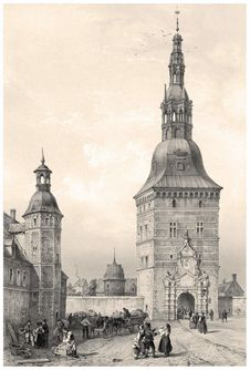 Free Frederiksborg Castle—Gate-Tower Royalty Free Stock Image - 92141586