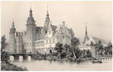 Free Frederiksborg Castle—Audience Hall Stock Photography - 92141602