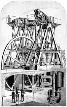 Free Leavitt Pumping Engine Stock Photos - 92142443
