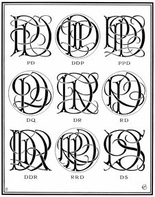 Free Ciphers—DP, DR, DS… Stock Photos - 92143123