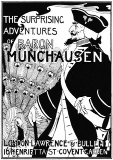 Free The Surprising Adventures Of Baron Munchausen—Fontispiece Royalty Free Stock Photo - 92144155