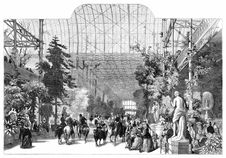 Free Crystal Palace As Winter Garden Stock Image - 92145261