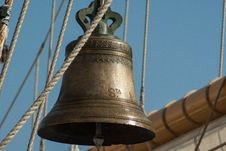 Free Old Ships Bell Royalty Free Stock Photography - 92160527
