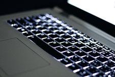 Free Black Laptop Keyboard Royalty Free Stock Image - 92160876