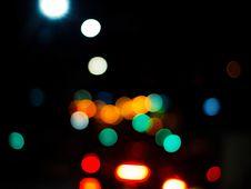 Free Colorful Bokeh Lights On Black Royalty Free Stock Photos - 92160978