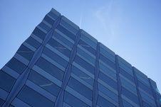 Free Corner Of Modern Building In Blue Skies Stock Image - 92161061