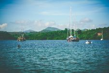 Free Sailboats In W Ater Stock Photos - 92161123