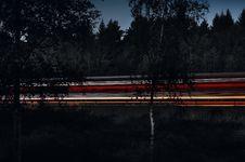 Free Light Streaks On Highway At Night Stock Image - 92161131