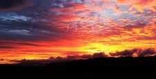 Free Sunrise Through Cloudy Skies Stock Photo - 92161170