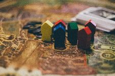 Free Board Game Houses Royalty Free Stock Photos - 92161348
