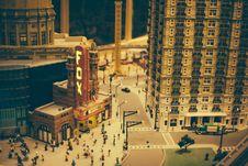 Free Legoland Downtown Atlanta Fox Theatre Stock Image - 92161581