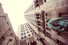Free Downtown Chicago Tribune Building Statue Stock Photo - 92161640