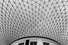 Free Architecture Black And White Geometric Skylight Stock Photos - 92161983