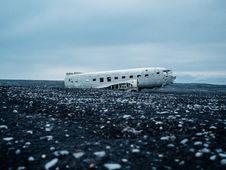Free Arctic Plane Crash Blue Grey Royalty Free Stock Photography - 92161997