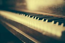Free Old Piano Keys Vintage Wood Rustic Stock Photos - 92162153
