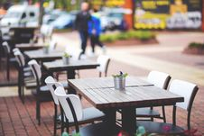 Free Street View Of A Coffee Royalty Free Stock Image - 92162326