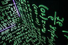 Free Math On Walls Stock Photo - 92162720