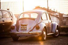 Free Blue Volkswagen Royalty Free Stock Photos - 92162778