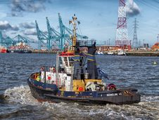 Free Water Transportation, Tugboat, Ship, Waterway Royalty Free Stock Images - 92166029
