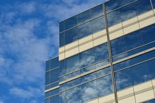 Free Clear Glass Covered Building Stock Image - 92172861