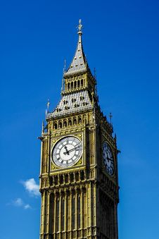 Free Elizabeth Tower And Big Ben Royalty Free Stock Images - 92174339