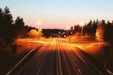 Free Highway Long Exposure Stock Photos - 92174513