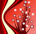Free Red Vector  Floral Design Stock Photo - 9220980