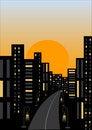 Free Night City Stock Images - 9224304