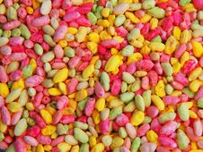 Free Colored Rice Beads Stock Photos - 9220353