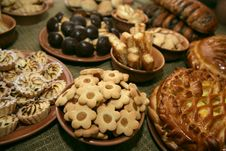 Free A Lot Of Different Cookies Royalty Free Stock Photos - 9220568