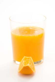 Free A Delicious Freshness Orange Juice Royalty Free Stock Photo - 9222525
