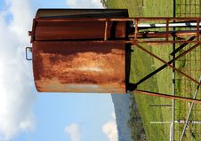Free Rusted Gas Tank Stock Image - 9222561