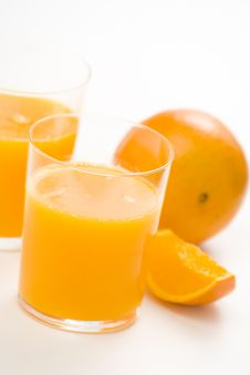 Free A Delicious Freshness Orange Juice Royalty Free Stock Image - 9222566