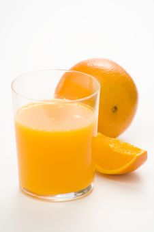 Free A Delicious Freshness Orange Juice Stock Photo - 9222570