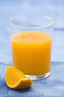 Free A Delicious Freshness Orange Juice Royalty Free Stock Image - 9222676
