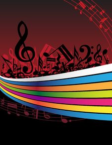 Free Music Background Stock Photo - 9222740