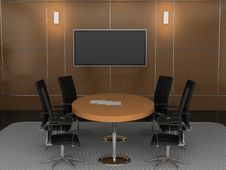 Free Office Interior Royalty Free Stock Image - 9223226